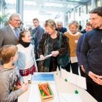 Wir haben Energie 2016, Präsentation der Wettbewerbsbeiträge und Preisverleihung durch Ministerin für Schule und Weiterbildung Sylvia Löhrmann in der NRW Bank in Düsseldorf am 10.März 2016 . Foto: Udo Geisler