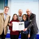Wir haben Energie; Abschlussveranstaltung und Preisverleihung in der NRW.BANK in Düsseldorf am 16.02.2017. Foto: Udo Geisler